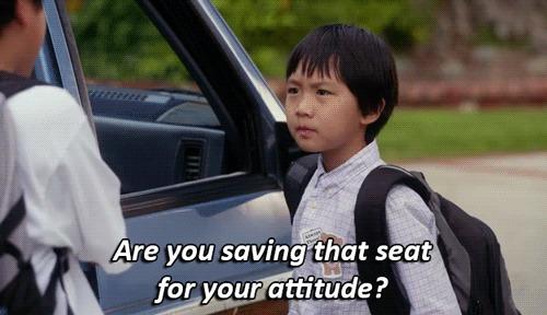 fob attitude